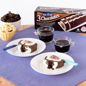 Torta Europa 3 Chocolates...